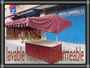 LONA IMPERMEABLE Y LAVABLE