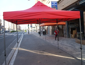 CARPA PLEGABLE ACERO KING KONG